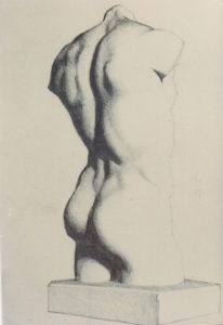 Classic Nude Drawing