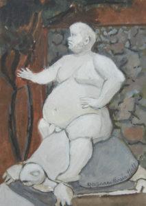 Bacchus at Boboli Gardens
