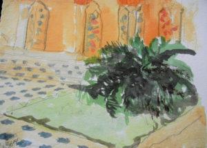 Fern and Frescoes
